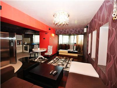Vanzare apartament 3 camere 110mp mobilat si utilat Blvd Unirii Traian