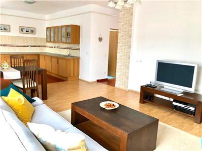 Vanzare apartament 2 camere 83 mp  baneasa greenfield mobilat