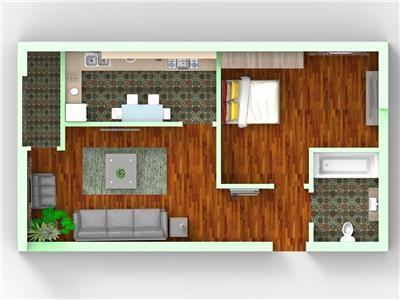 Vanzare apartament 2 camere  fundeni ciresului