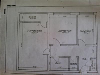 Vanzare apartament 2 camere metrou 1 decembrie ideal locuit/investitie