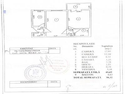 Vanzare apartament 2 camere Titan zona Aleea Rotunda vedere parc IOR