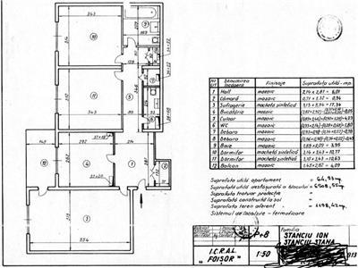 Vanzare apartament 3 camere, decomandat stadion lia manoliu
