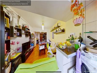 Vanzare apartament 3 camere Drumul Taberei 34