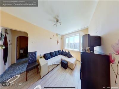 Vanzare apartament 3 camere Drumul Taberei Romancierilor