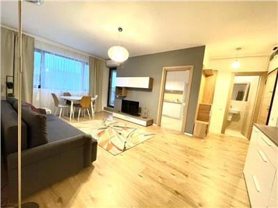 Vanzare apartament 3 camere mobilat   baneasa greenfield salcamilor