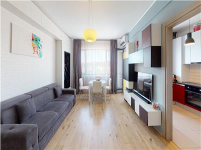 Vanzare apartament 3 camere mobilat Baneasa Greenfield   tur virtual
