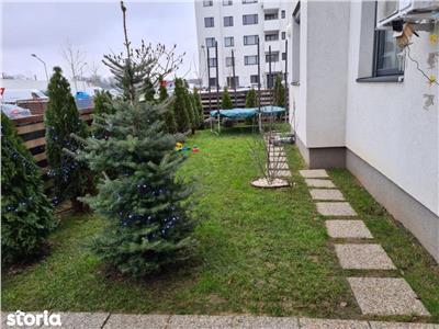 Vanzare apartament 3 camere  parter cu gradina baneasa greenfield