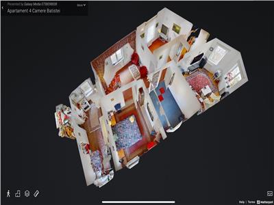 Vanzare apartament 4 camere Batistei Tur Virtual