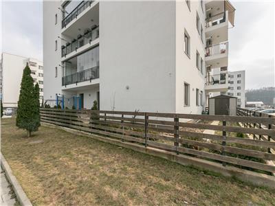 Vanzare apartament 4 camere cu gradina  mobilat baneasa greenfileld