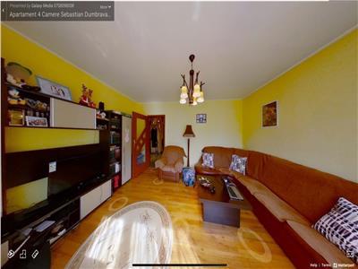 Vanzare apartament 4 camere sebastian dumbrava noua