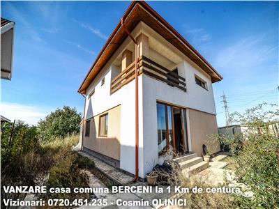 VANZARE casa comuna BERCENI 1 km de Centura Bucuresti