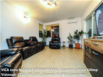 Vanzare casa NICOLAE GRIGORESCU, 5 camere, teren 500mp, constr. 2007