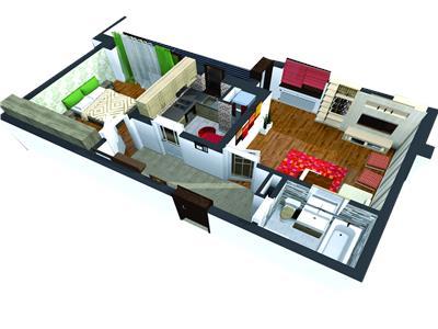 Vanzare apartament 2 camere, BLOC NOU, Ploiesti, Mihai Bravu