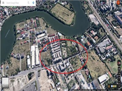 Vanzare teren 10 000mp Baneasa soseaua Straulesti Petrom City