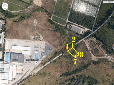 Vanzare teren 1270 mp sau  parcelat in zona vitan barzesti - romstal. Bucuresti
