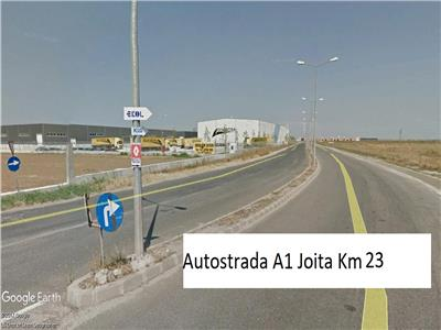 Vanzare  Teren 18100 mp La sosea acces Nod Autostrada A1 Joita