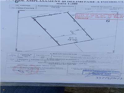 Vanzare teren 240mo , casa demolabila Garlei Baneasa