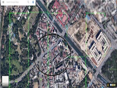 Vanzare teren 300mp zona Cotroceni Splaiul Independentei
