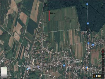 Vanzare teren 3300 MP Peris Padurea Scrovistea plata rate/auto