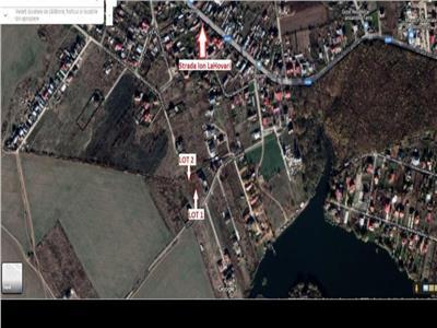 Vanzare teren 416 mp Balotesti  zona lac