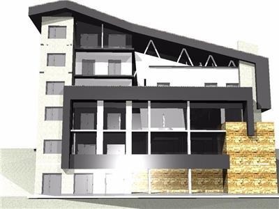 Vanzare teren cu proiect si structura in constructie Ranca Transalpina