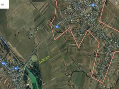 Vanzare Teren extravilan Sabareni, langa Perimetrul Arcuda - Dambovita