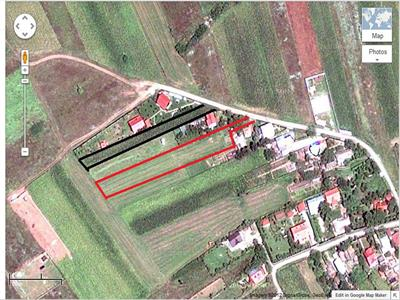 Vanzare Teren Izvorani, 1356 sau 2400mp,utilitati drum asfaltat
