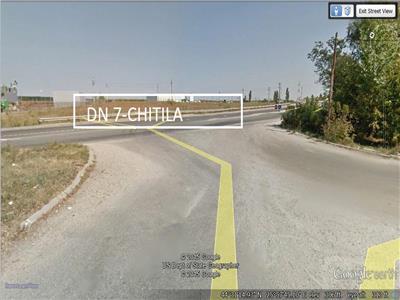 Vanzare teren la  DN7 Chitila Buftea Industrial