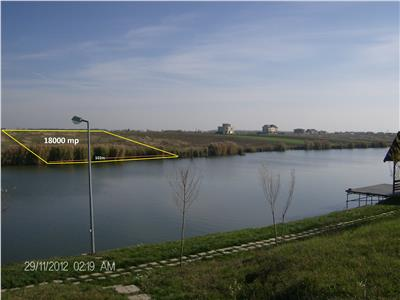 Vanzare teren lac corbeanca zona laguna albastra