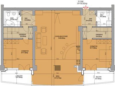 VANZAREA APARTAMENT PLEVNEI-ORHIDEEA GARDENS XL