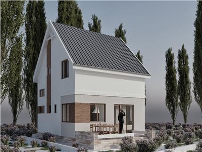 Vila 4 camere, P+1E, teren 400 mp, Strejnic - Ploiesti, Prahova