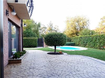 Vila cu piscina in cartier rezidential Dobroesti resedinta/birouri